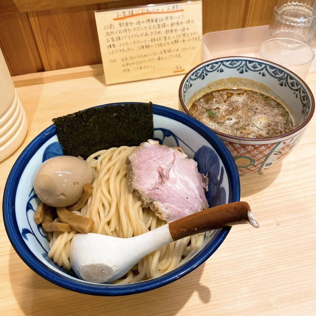 ラーメントウカンヤのつけ麺