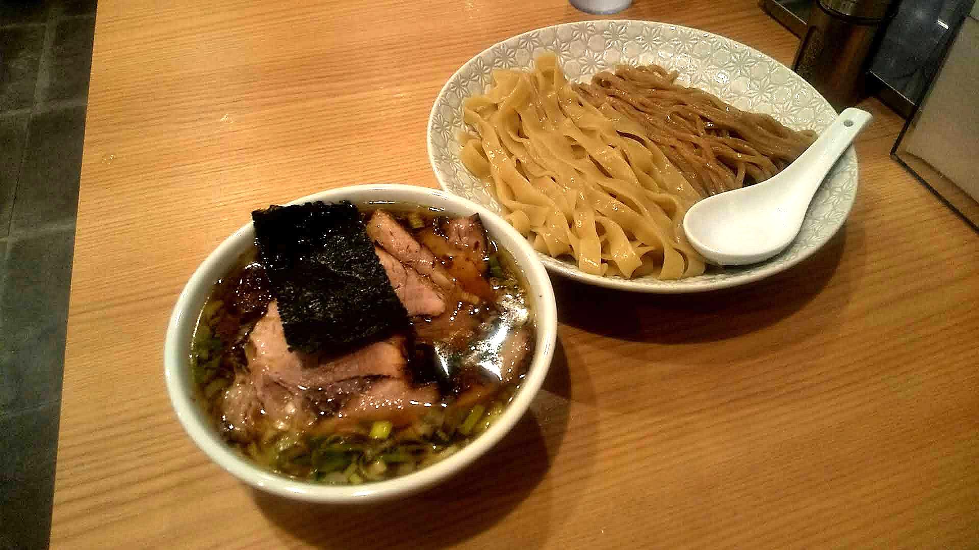 麺屋麦ゑ紋のつけ麺の写真
