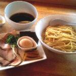 湖麺屋リールカフェの特製つけ麺の写真