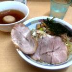 煮干鰮らーめん圓の特製つけ麺の写真